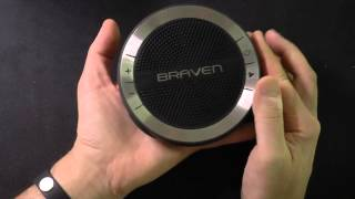 Braven Mira Bluetooth Wireless Speaker
