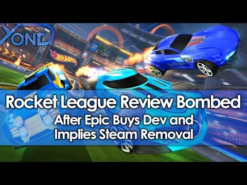 Rocket League Review Bombed After Epic Buys Dev & Implies Steam Removal