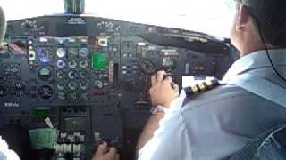 Boeing 727 Amerijet freighter at Piarco Trinidad 2007