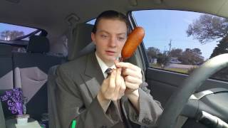 Sonic Pancake on a Stick - Food Review - Video Youtube
