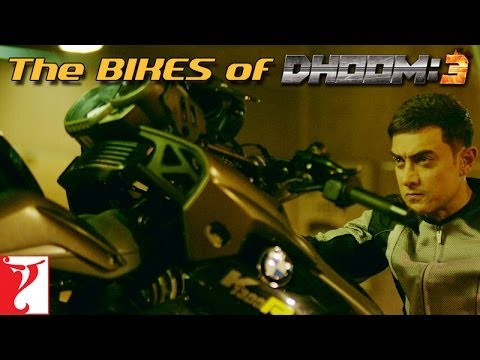 The Bikes of DHOOM:3 | Aamir Khan | Abhishek Bachchan | Uday Chopra