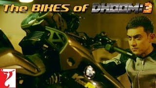 The Bikes of Dhoom 3