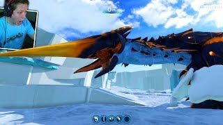 Download ICE WORM LEVIATHAN ATTACK *TERRIFYING* - Subnautica