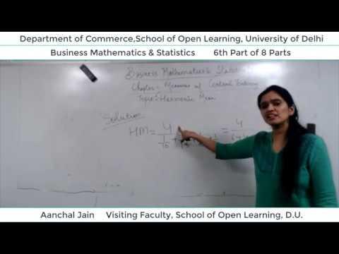 B.Com 2nd Semester (B.M.S) Lecture - Aanchal Jain  Part-6
