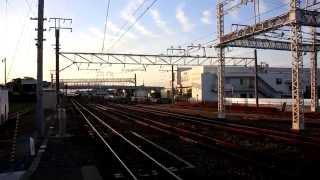 EF210+東武60000系電車・甲種輸送(高塚駅)
