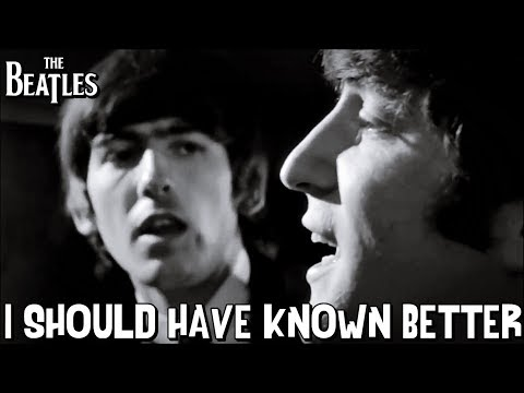 The Beatles - I Should Have Known Better (Train Scene)