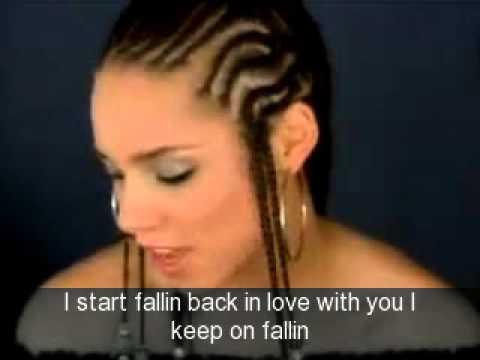 , title : 'Alicia Keys - Fallin' Lyrics'