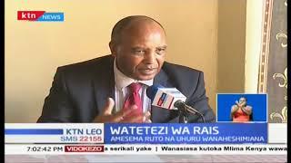 Francis Kimemia akashifu baadhi ya mataamshi ya viongozi wa Mlima Kenya