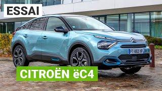 Essai Citroën ëC4 : une compacte électrique au look de SUV