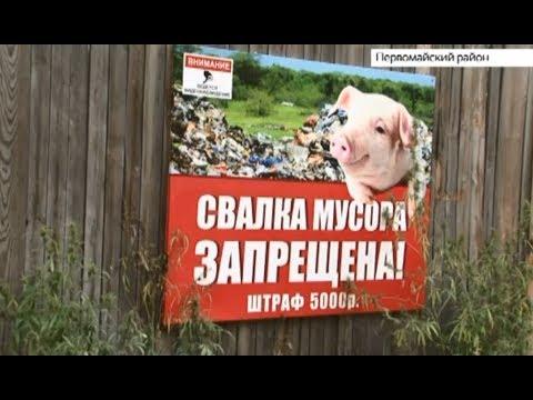 Несанкционированные свалки регулярно появляются в лесах Первомайского района