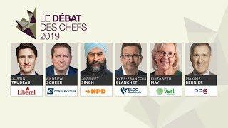 Le débat des chefs fédéraux 2019