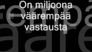 Apulanta - Hiekka Lyrics