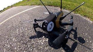 Walkera Rodeo 150 FPV windy day flying