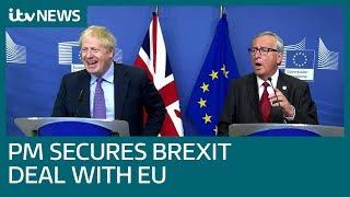 Prime Minister Boris Johnson hails success with Brexit negotiations | ITV News