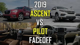 2019 Subaru Ascent vs. 2018 Honda Pilot: Faceoff Comparison