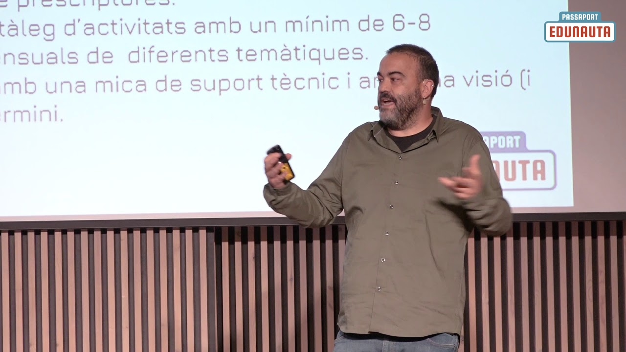 Oriol Roca - Passaport Edunauta: tot el que et cal saber per presentar-te a la crida!