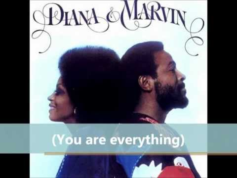 Diana & Marvin - You Are Everything (Lyrics Video)