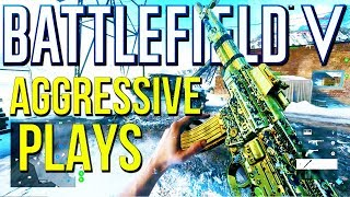 Battlefield 5: Aggressive Streaks FTW! (PS4 Pro Multiplayer Gameplay)