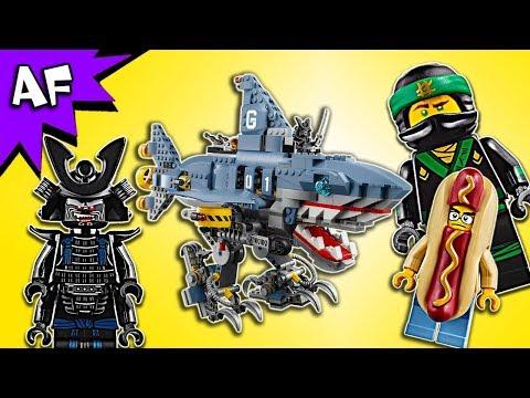 Vidéo LEGO Ninjago 70656 : Le requin mécanique de Garmadon