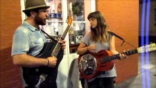Shine Delphi & Sierra Elizabeth Ferrell play LIVE in the French Quarter, 3-18-2015