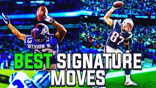 10 Greatest Signature Moves in NFL History!