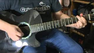 Rainsong Black Ice WS1000N1 Graphite Guitar Review By Scott Grove