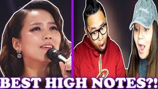 소향/ So Hyang - The Best High Notes in the World | REACTION 2018!