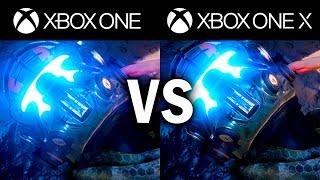 XBOX ONE X vs. XBOX ONE S COMPARISON [1080p Comparison]