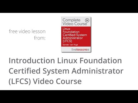 Linux Foundation Certified System Administrator - Introduction LFCS ...
