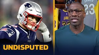 Shannon suspects that Tom Brady is trying to rewrite history on Pats separation | NFL | UNDISPUTED