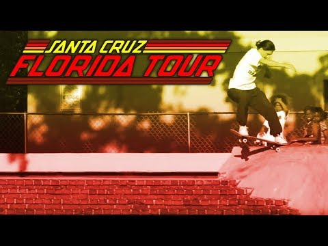Santa Cruz Skateboards 2018 Florida Tour