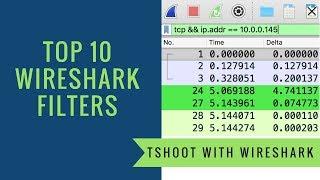 Top 10 Wireshark Filters