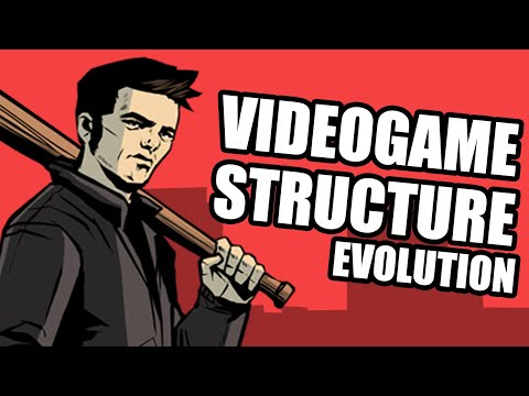 Videogame Structure Evolution (Dunkey)