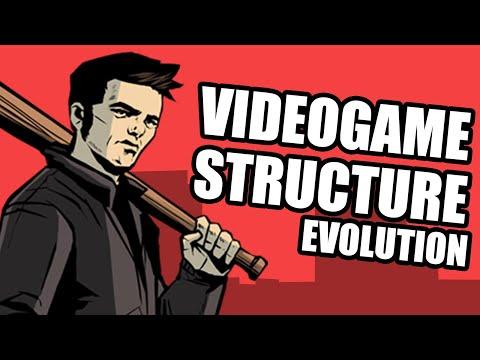 Videogame Structure Evolution (Dunkey)