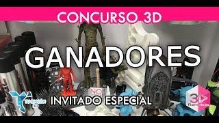 Ganadores concurso 3D de septiembre | Invitado especial Tu Rincón 3D.