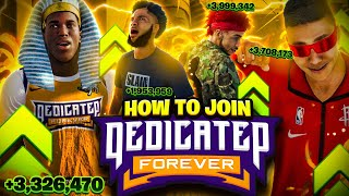 HOW TO JOIN THE DF CLAN in NBA 2K21 • BEST CLAN IN 2K HISTORY (DEDICATED FOREVER)
