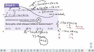 Eğitim Vadisi AYT Matematik 4.Föy Denklem Sistemleri 1 Konu Anlatım Videoları