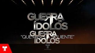 Guerra de Ídolos | Que Pase la Siguiente (Audio) by Fernando Carrera | Telemundo