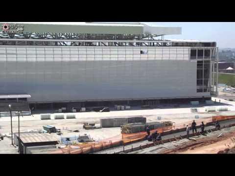 Entorno da Arena Corinthians em 10 de Novembro de 2013