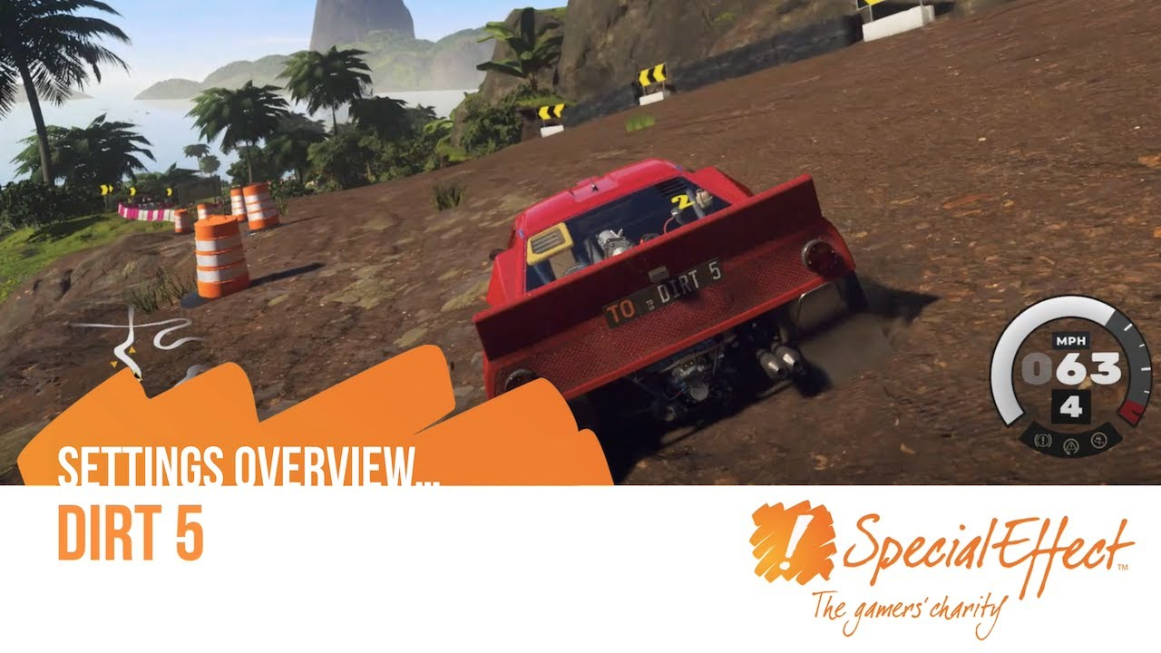 video placeholder for Dirt 5 | Settings Overview
