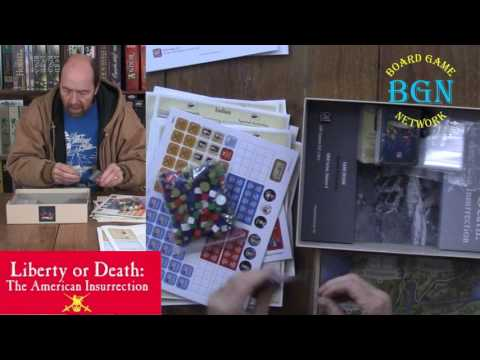 Liberty or Death: The American Insurrection unboxing