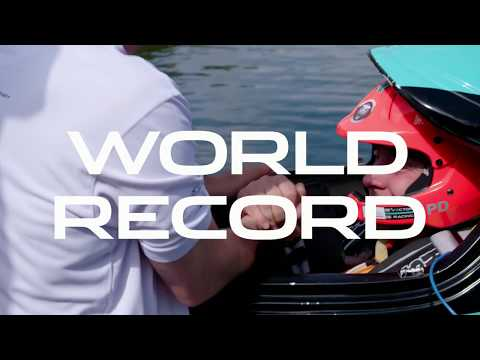 Jaguar Vector Racing break maritime electric world record