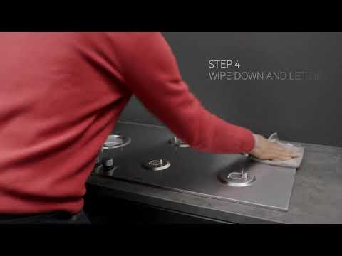 AEG Gas Hob HGB64200SM - Stainless Steel Video 1