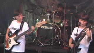 Video Rajhradský minifestival ROCK NA VSI 2014 Kapela Blackstars band