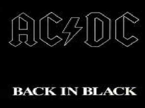 AC/DC - BACK IN BLACK MUSIC WITH LYRICS