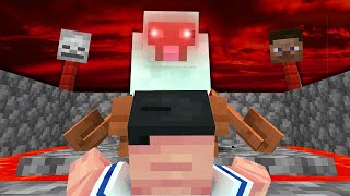 The OLD GOD SHEEP is controlling me ! 😰 (Minecraft Camp Season 3)