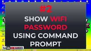 How to show WiFi Password on your computer | Made by: Tikrizza