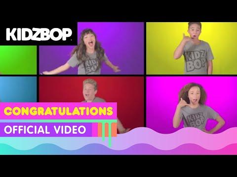 KIDZ BOP Kids –Congratulations (Official Music Video) [KIDZ BOP 36]