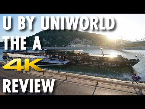 The A Tour & Review ~ U by Uniworld ~ Cruise Ship Tour & Review [4K Ultra HD]