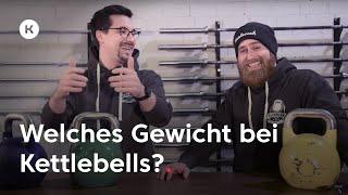 Kettlebell: Das perfekte Gewicht